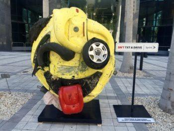 Sprint's The Last Emoji Sculpture