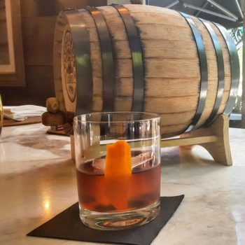 Barrel Aged Negroni Cocktail