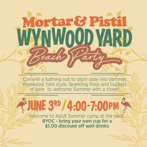 Wynwood+Beach+Mortar+and+Pistil+Tactivate+Beach+Party