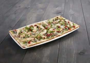 Grilled Chicken and Wild Mushroom Flatbread-HR
