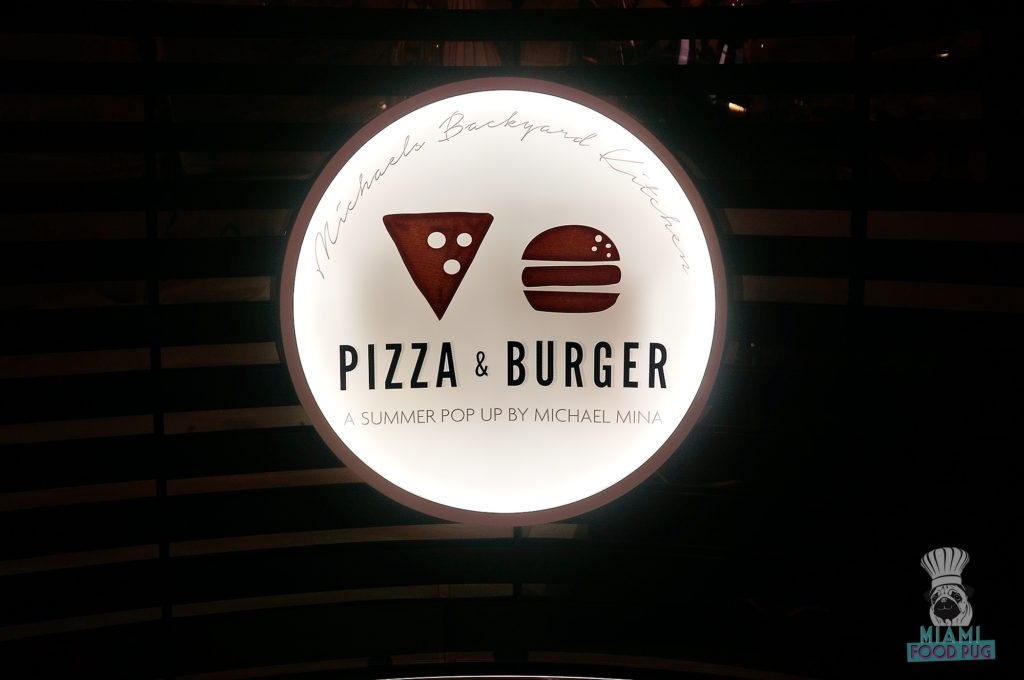 Pizza and Burger - Sign 2