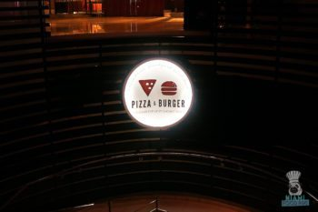 Pizza and Burger - Sign