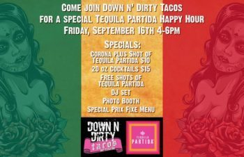 down n dirty tacos happy hour