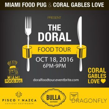 Doral Food Tour Flyer