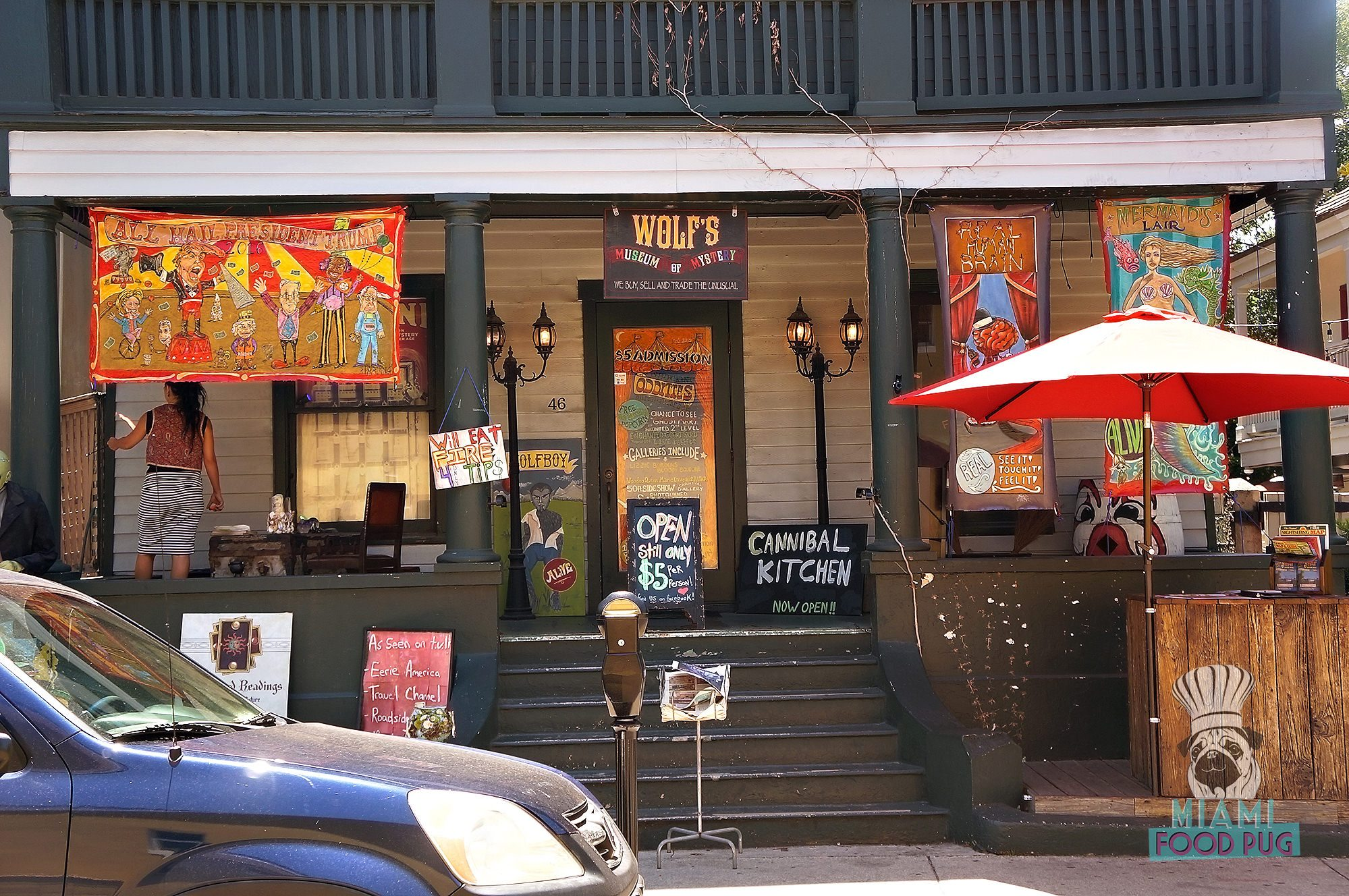 mfp destinations a guide to st augustine miami food pug