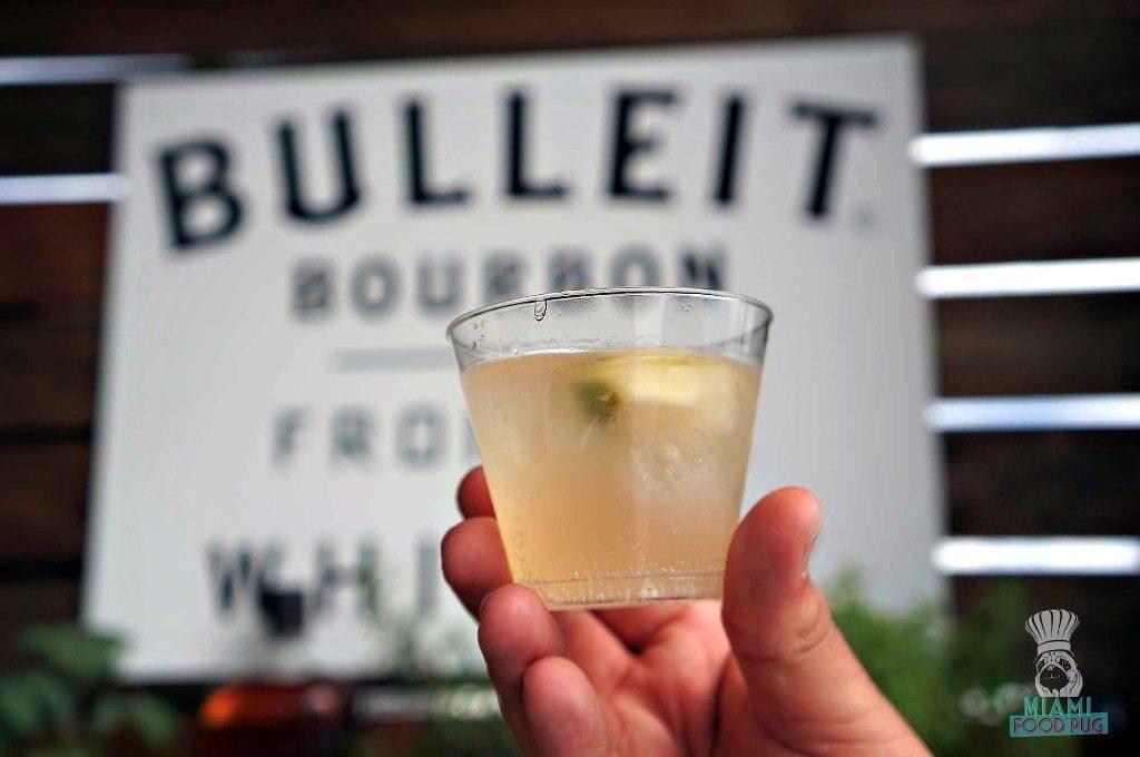 SOBEWFF Grand Tasting Bulleit Bourbon Cocktail