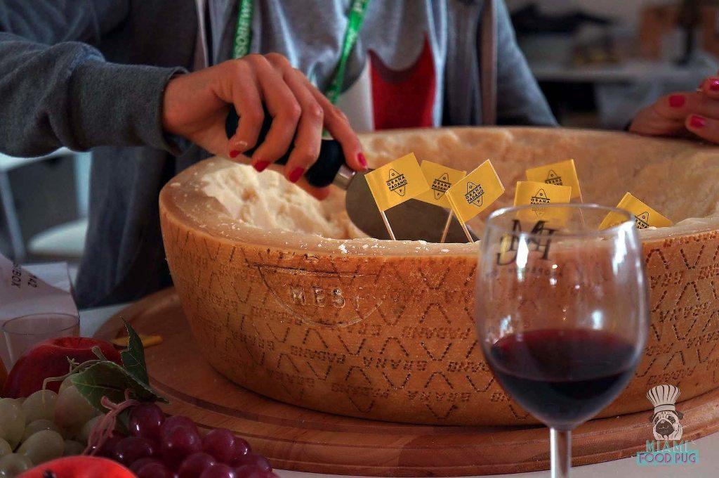 SOBEWFF Grand Tasting Grana Padano