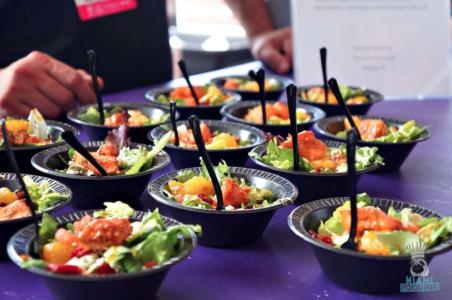 SOBEWFF Grand Tasting Pincho Factory's California Chicken Salad