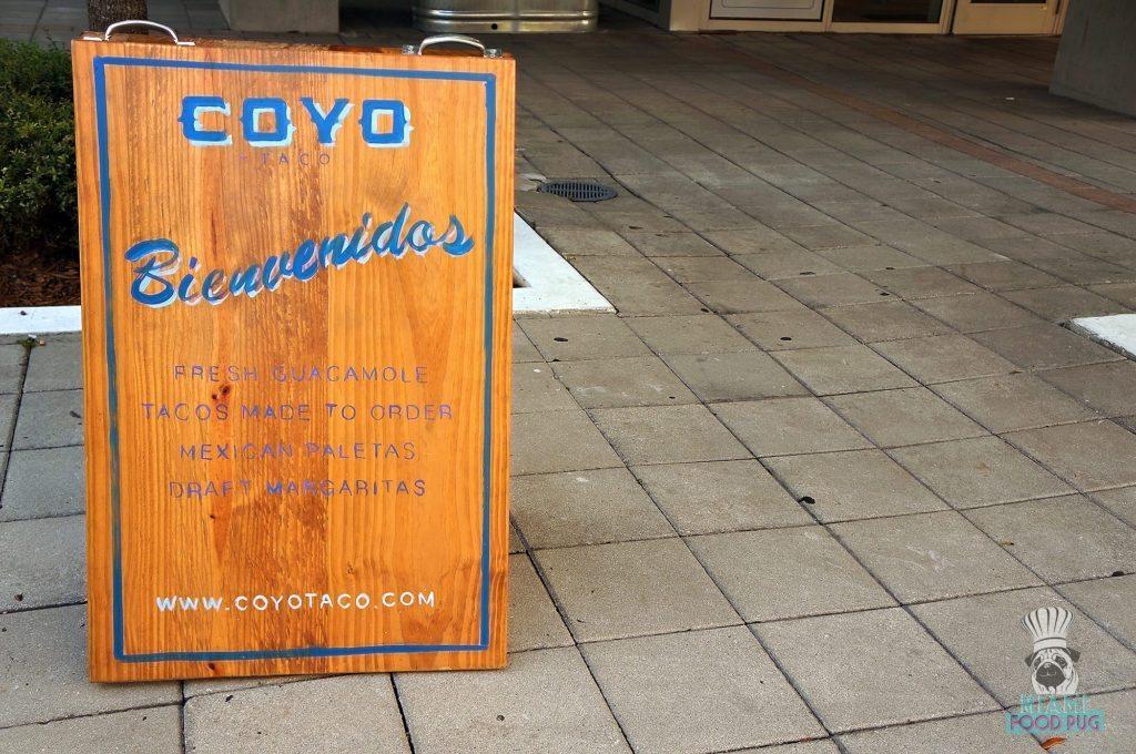 Coyo Taco - Brickell - Welcome