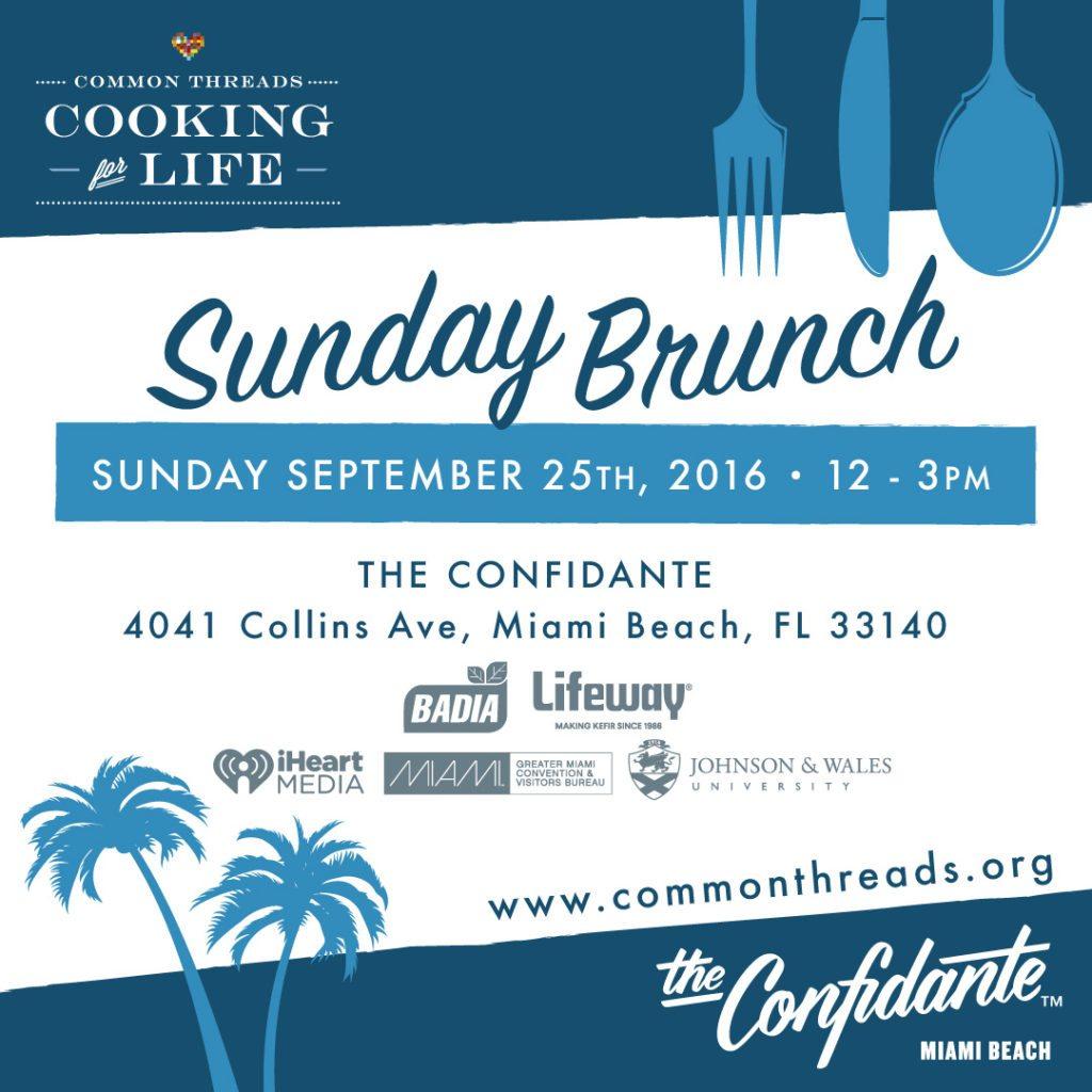 Common Threads - Sunday Brunch IG Invite