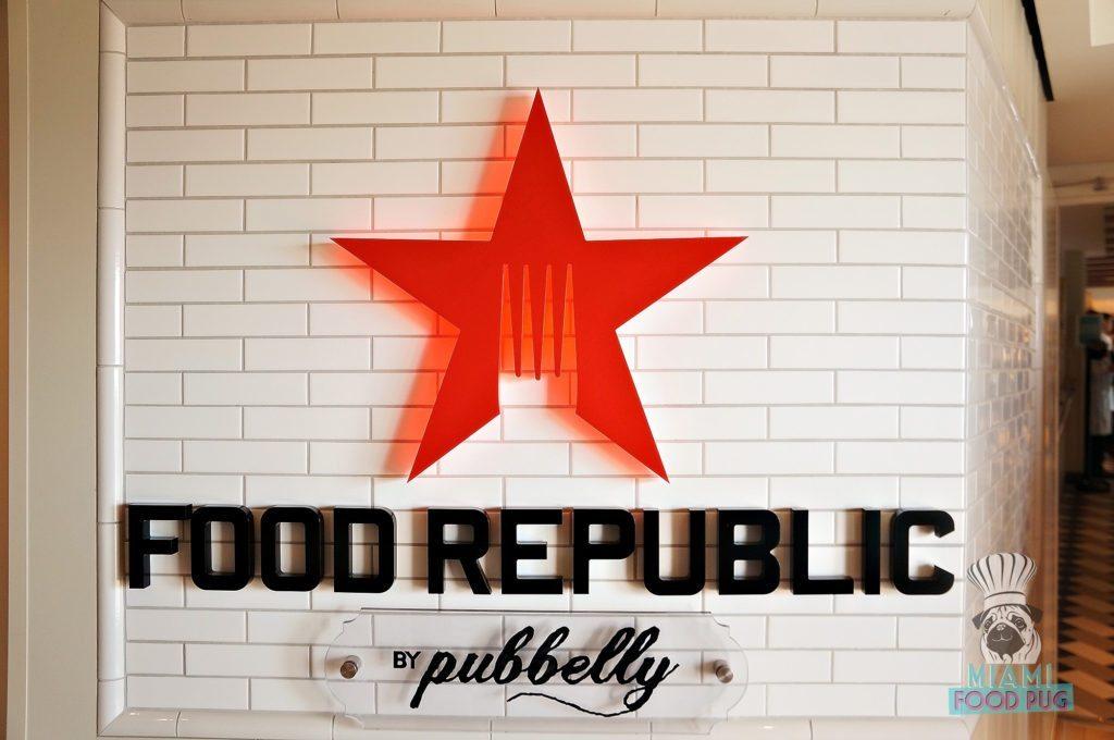Norwegian Escape - Food Republic - Sign